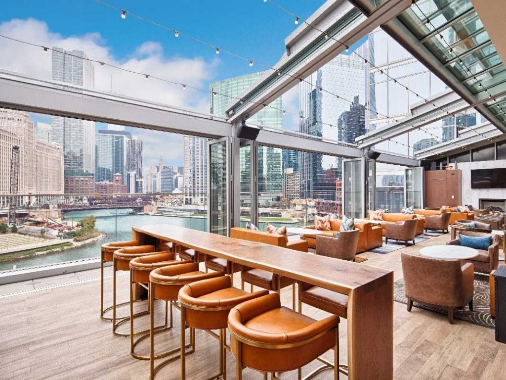 gibsons commercial retractable roof