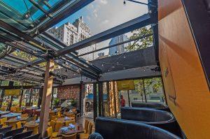 restaurant retractable roof