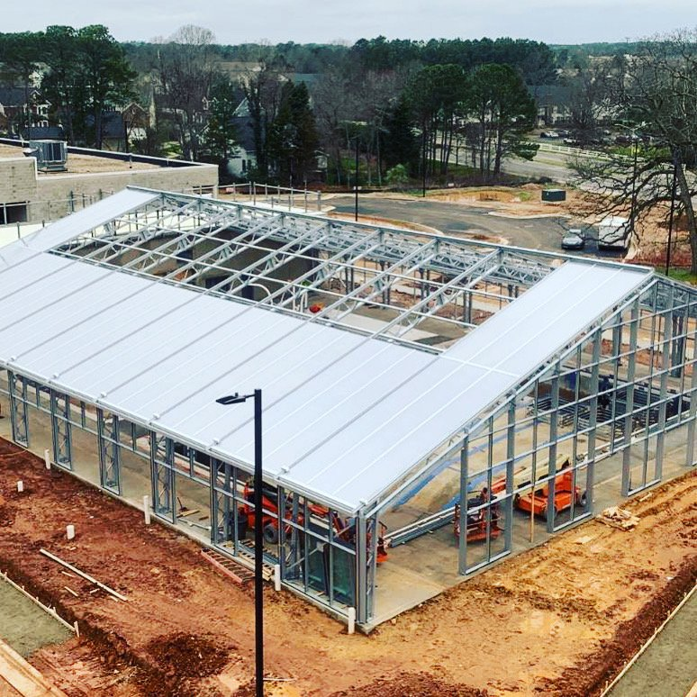 Morrisville Aquatic Center Under Construction