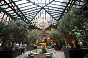 Restoration Hardware Chicago Three Arts Club Skylight